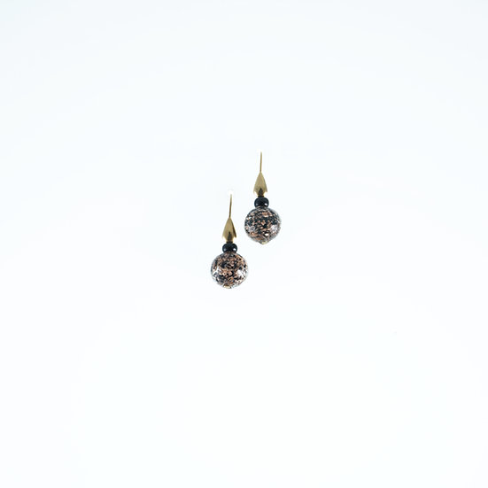 Nero Avventurina Earrings