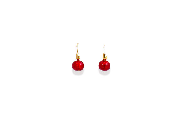 Rosso Tondo Earrings