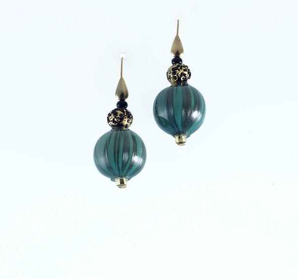 Acqua Nero Earrings