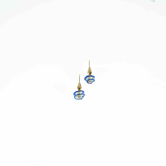 Oro Blu Rigato Earrings