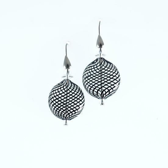 Nero Filigrana Earrings