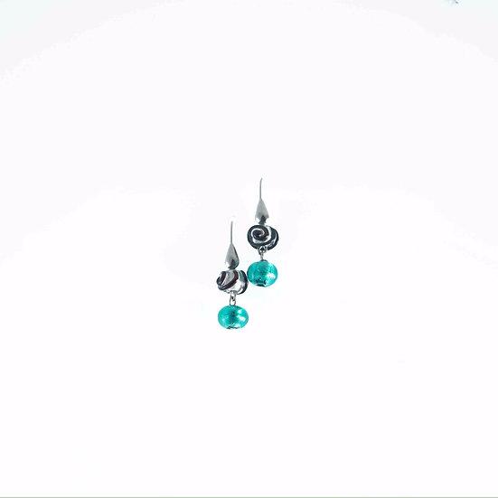 Acquamare Nero Earrings