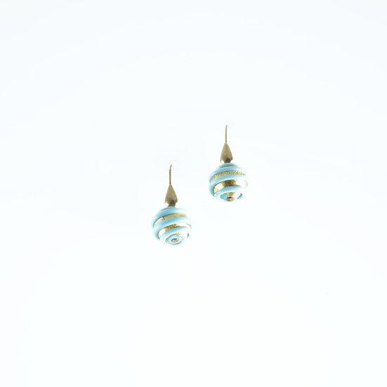 Bluino Oro Spirale Earrings