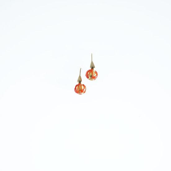 Rosso Barocco Earrings