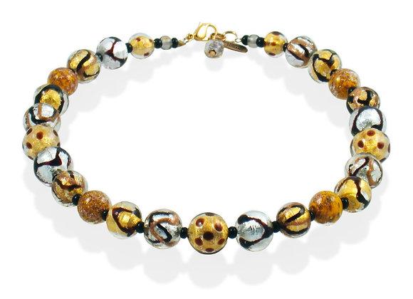 Oro Astratto Pois Necklace