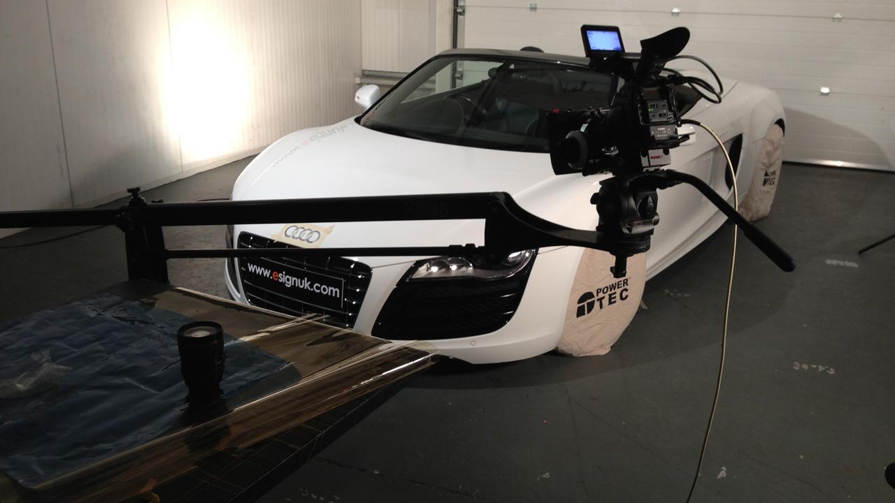 Promo video Audi R8 BTS