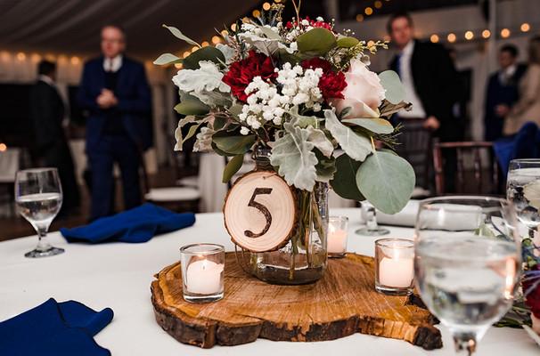 Reception - Guest Table Centerpieces