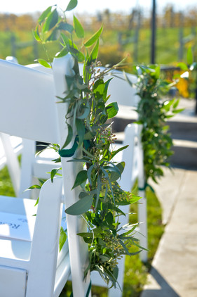 Ceremony Chair Garlands