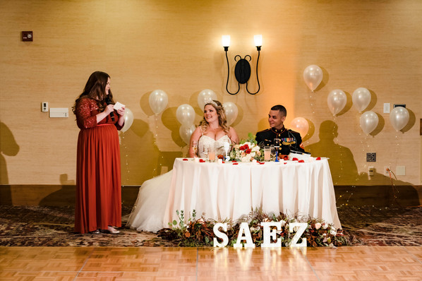 Reception Sweetheart Table