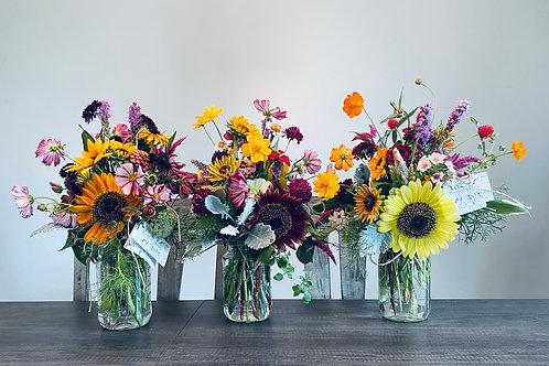5-week Farm Flower Bouquet Subscription