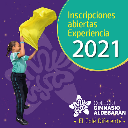 BIENVENIDOS ALDEBARAN 2021