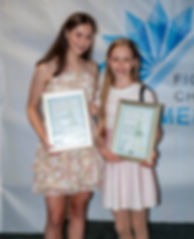 Vlada & Amy - DScholarship winners cropp