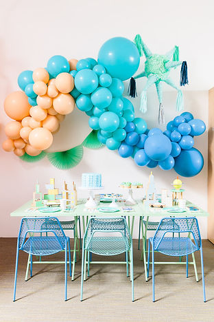 Modern City-Themed Party