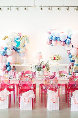 Pastel Carousel Dress-Up Birthday