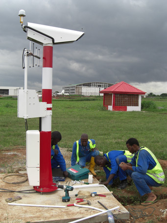 Working on our sites even when the rainy season is near
