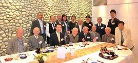 『関西工芸会の集い』に出席した全5科:17名の面々