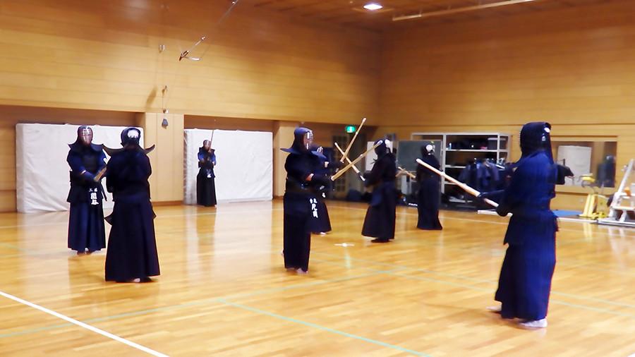 美しく綺麗な、「剣道トレーニング室」