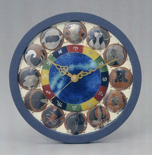 白井日和多さんの作品「星座時計」