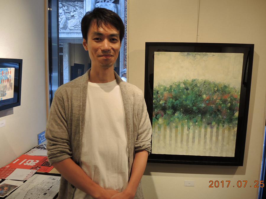 川人武先生が個展を開催