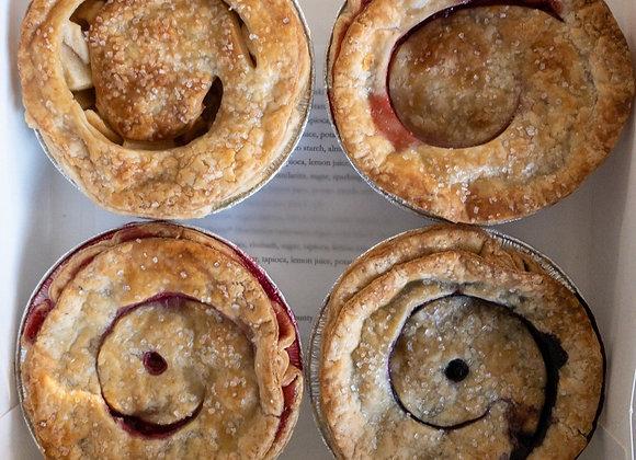 """5"""" Pie Sampler, 5"""" Pie (4 pack)"""
