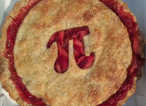 Pi Day Pies pick up Sat 3/13