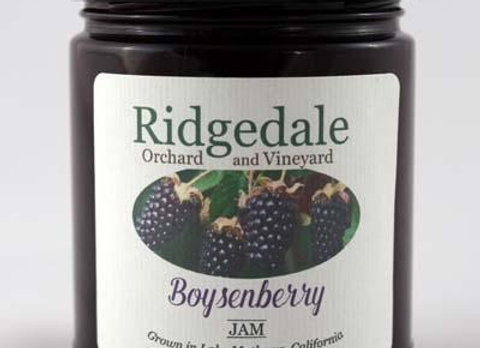 Ridgedale Orchard and Vinyard Jams
