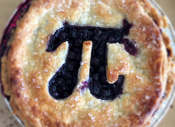 "5"" Pi Day Pies pick up Sat 3/13"