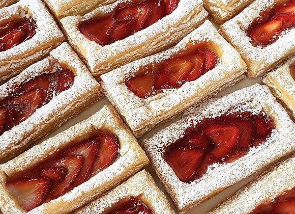 Strawberry Puff Tart