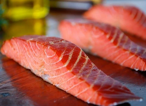 Alaskan Smoked Salmon Fillet