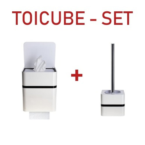 SET TOICUBE + BRUSH HOLDER