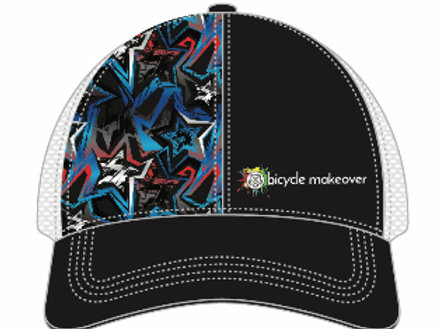 Bicycle Makeover Trucker Run Hat