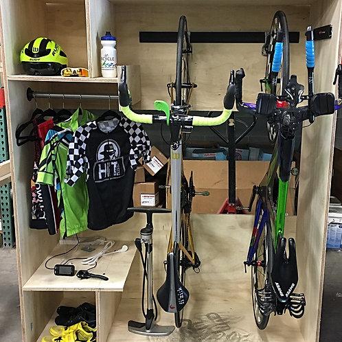 Bike Storage Locker Plans, and Shopping list