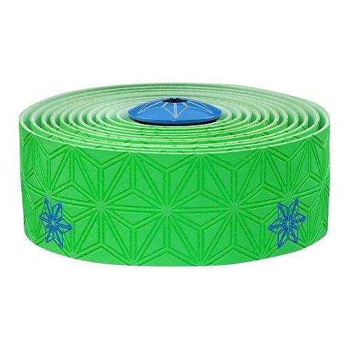 Super Sticky Kush Galazy Neon Green w/ Neon Blue Print
