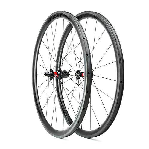Knight Composites 35mm Clincher w/ DT Swiss 240s hub