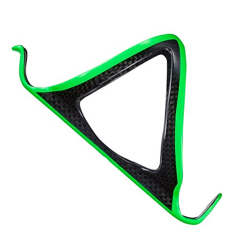 Supacaz Neon Green Carbon Fiber Water Bottle Cage