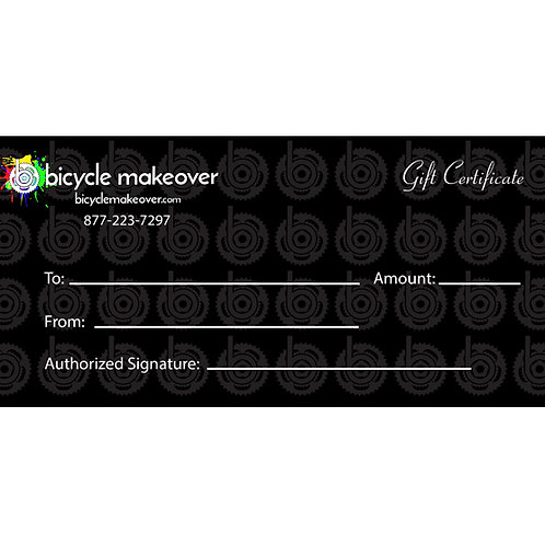 Basic Makeover Package Gift Certificate