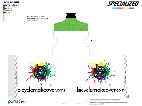 Specialized Purist Bicycle Makeover Water Bottle
