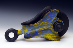 Blue Yellow Pulley