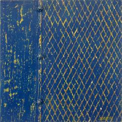 Blue Grate 24x24