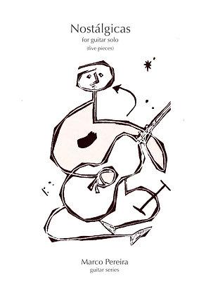 NOSTALGICAS (5 pieces) for guitar solo