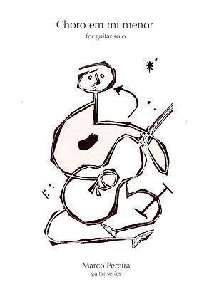 CHORO em MI MENOR for guitar solo
