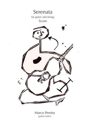 SERENATA for guitar and strings (SCORE)