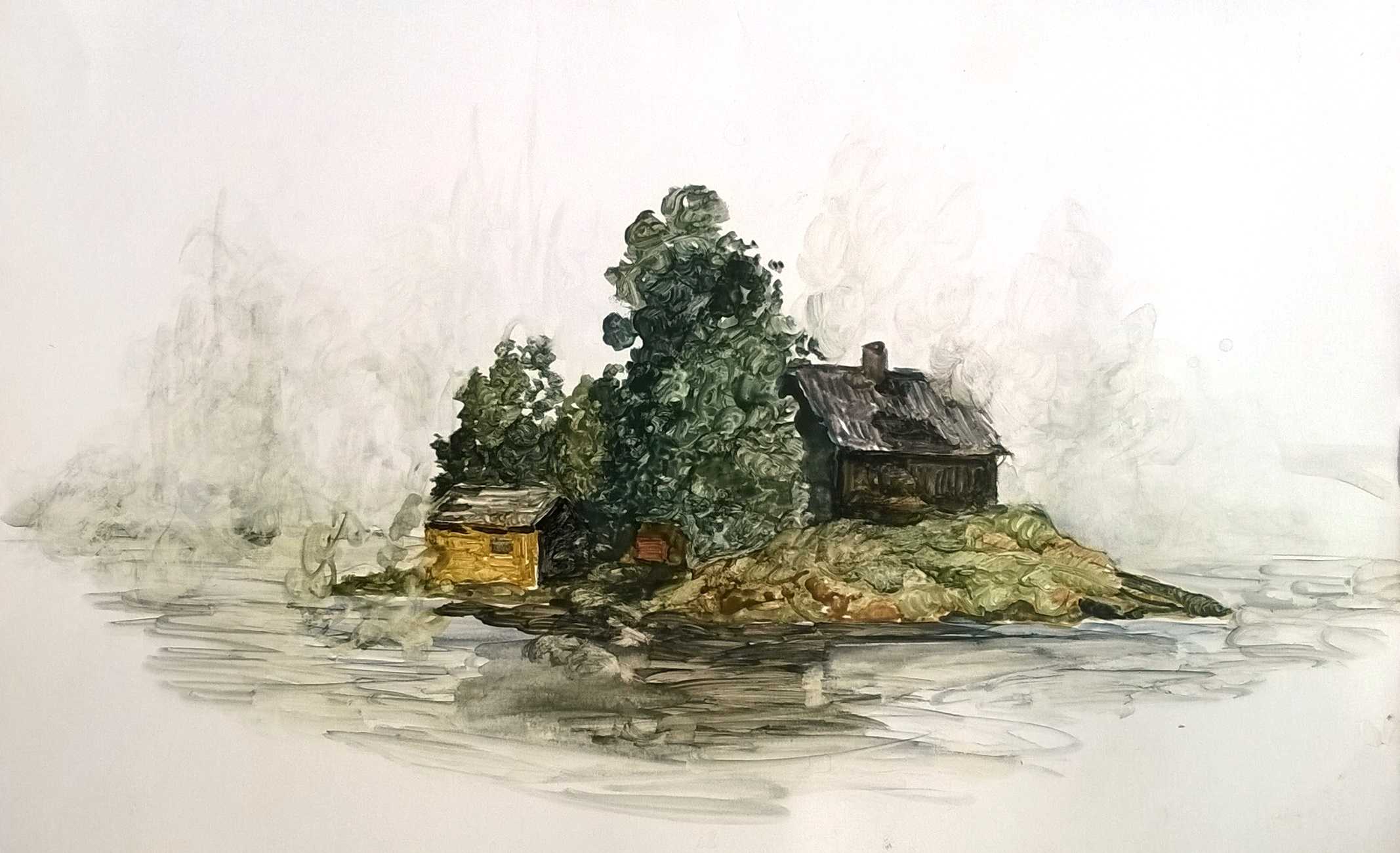 Island Mist Rain - 2017