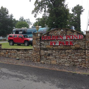 Golden Pond RV Resort, Shirley, Arkansas