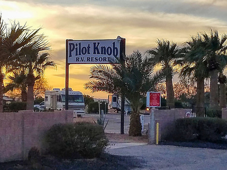 Pilot Knob RV Resort, California