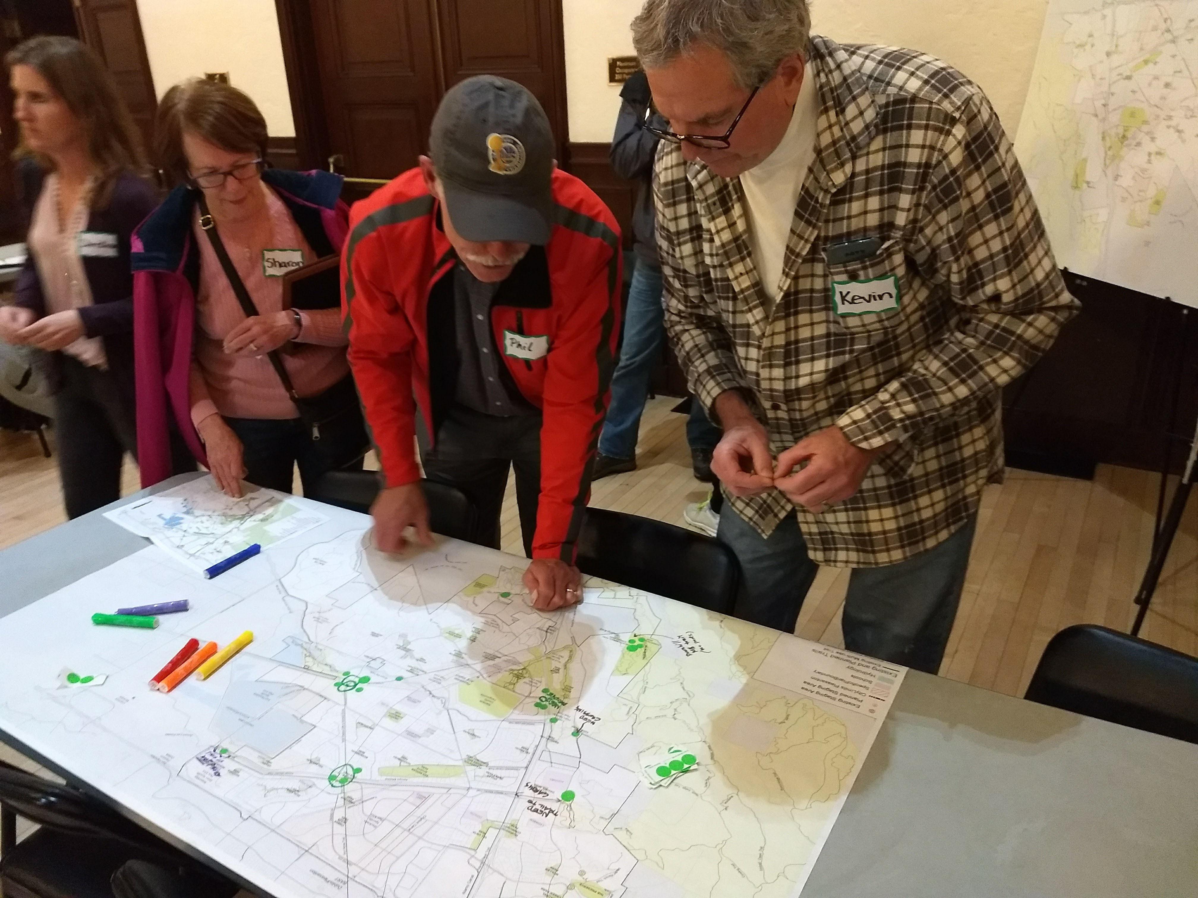 Public input at Master Plan Workshop
