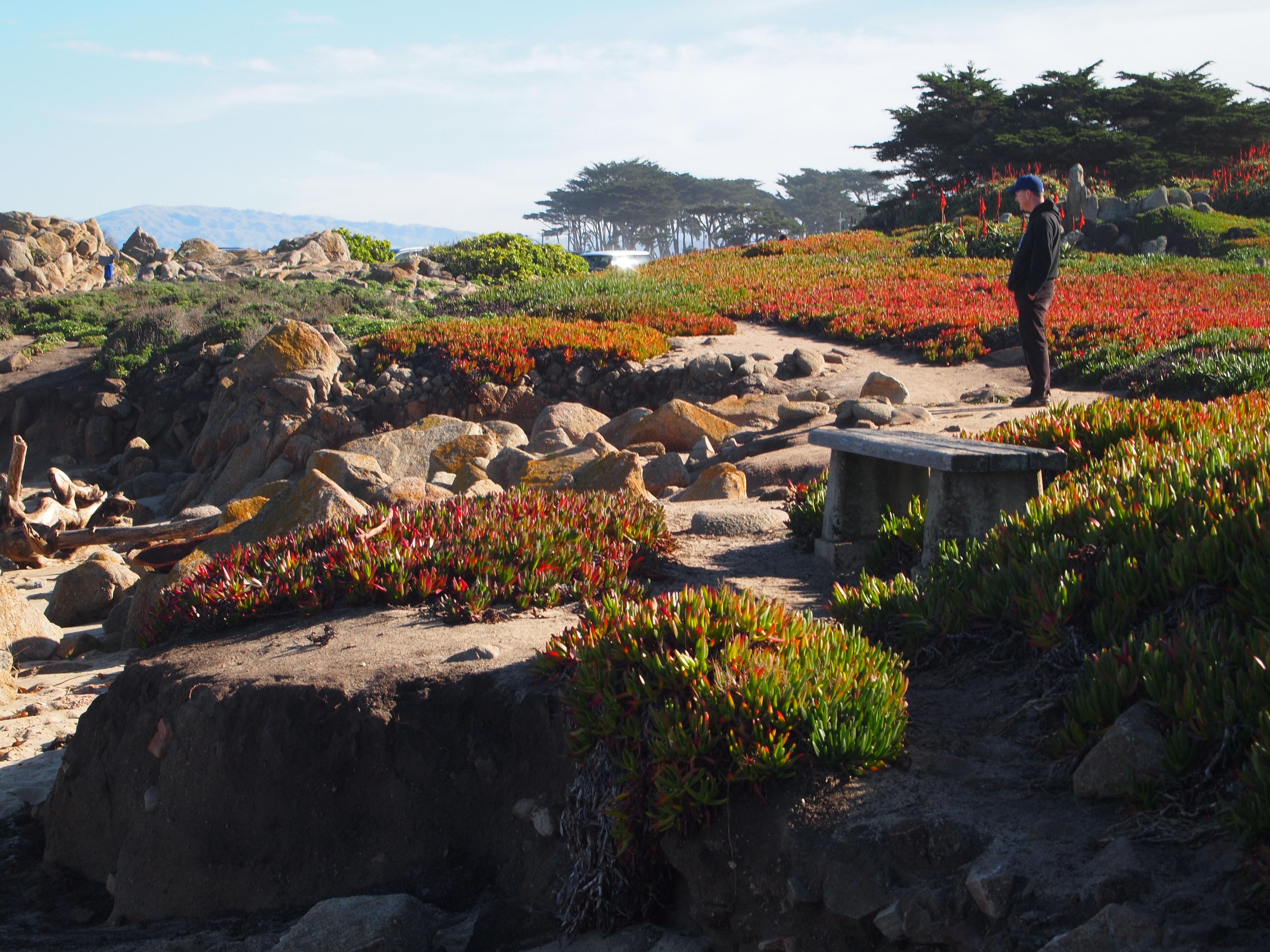 Existing erosion