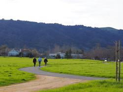 Bernal Community Park Trail users