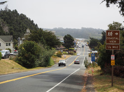 Highway 1 in Gualala