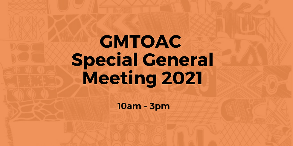 GMTOAC Special General Meeting